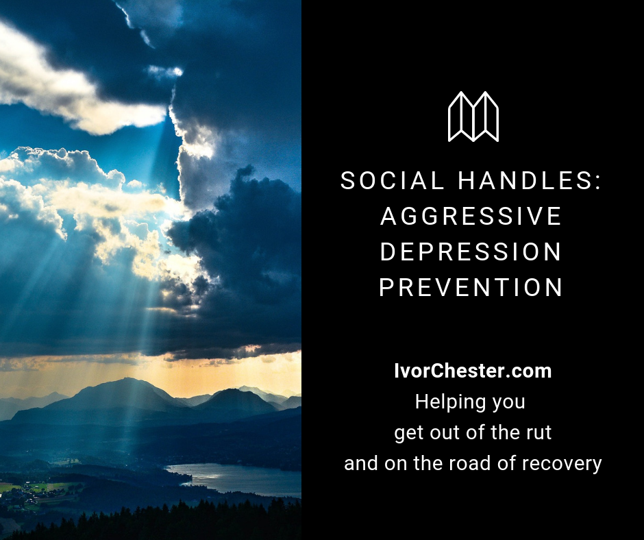Social Handles: Aggressive Depression Prevention